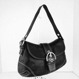 Coach Bags - 🎁🎄Coach Soho Black Leather Hobo Bag